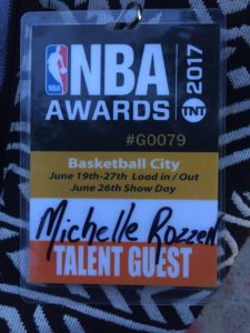 Michelle Rozzen Massage @ NBA Awards